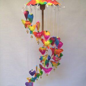 mobiel vlinder / hart